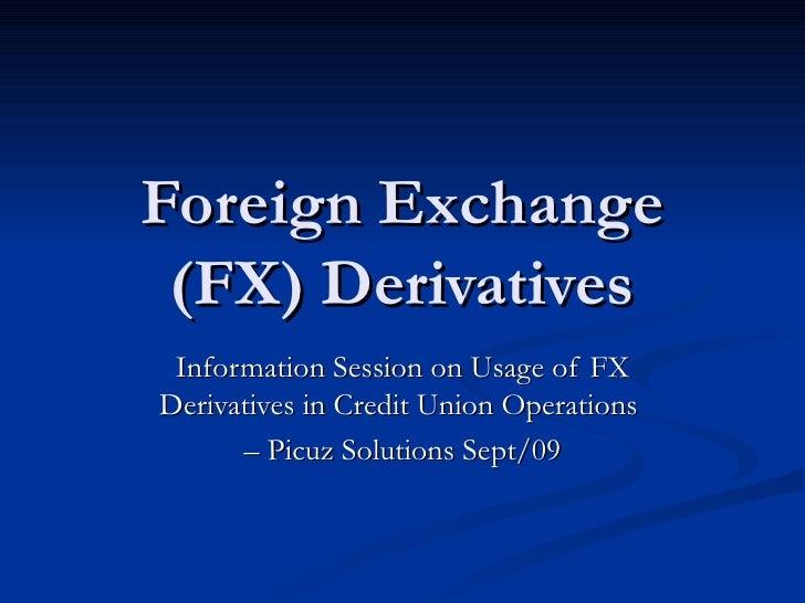 Forex derivatives с чем связан рост доллара