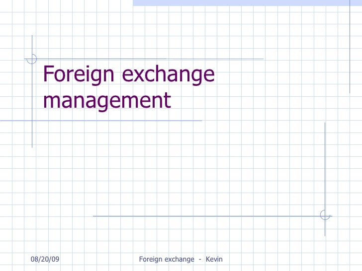 Forex management slideshare