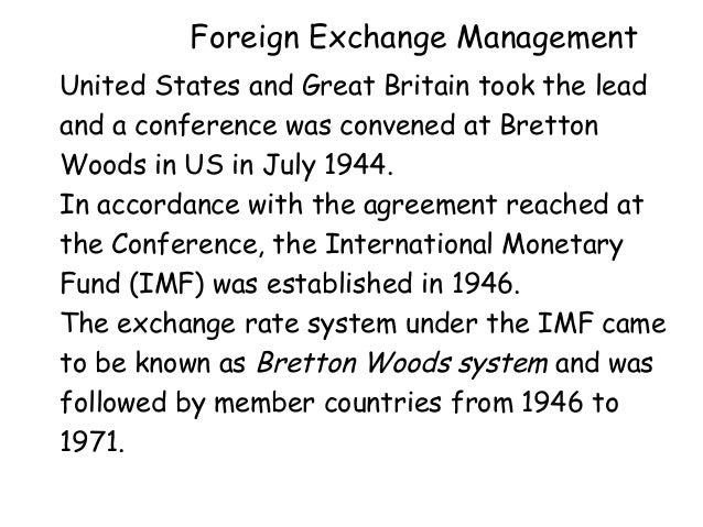 foreign exchange management Sale of foreign exchange to public under foreign exchange management act ( fema), 1999: foreign.