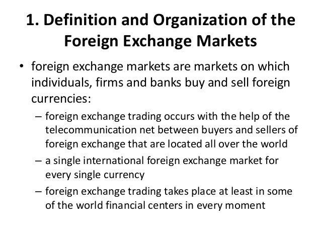 Forex broker definition