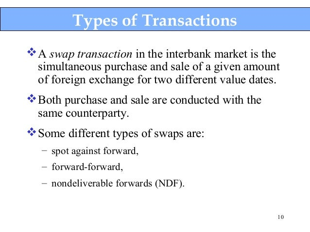 Forex swap rate definition
