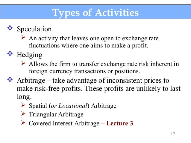 Forex interest rate arbitrage