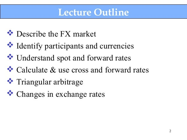 Forex forward rates online