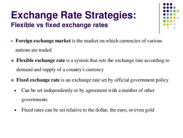 Definition of foreign exchange market
