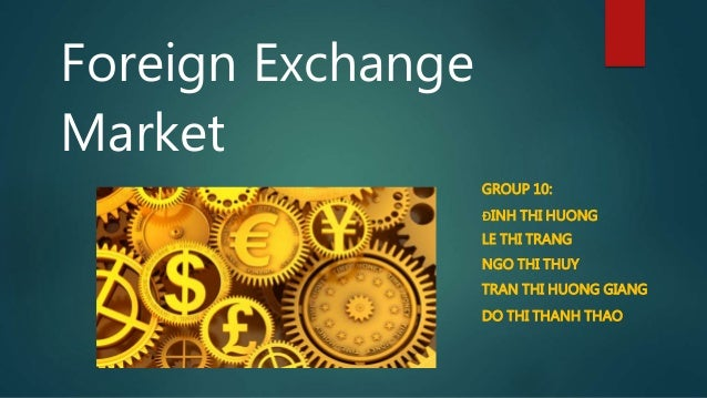 Foreign exchangr