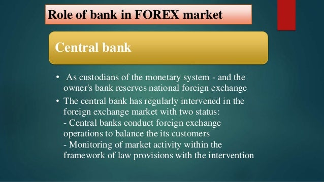 International Business - The Foreign Exchange Market