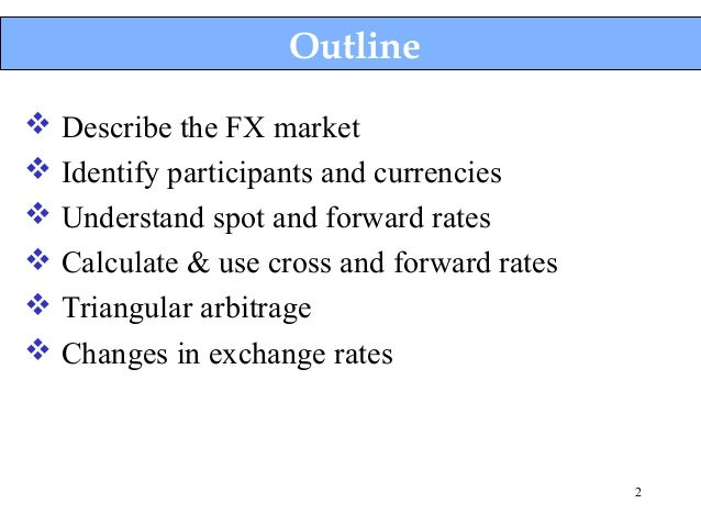 Are there arbitrage opportunities in international finance?