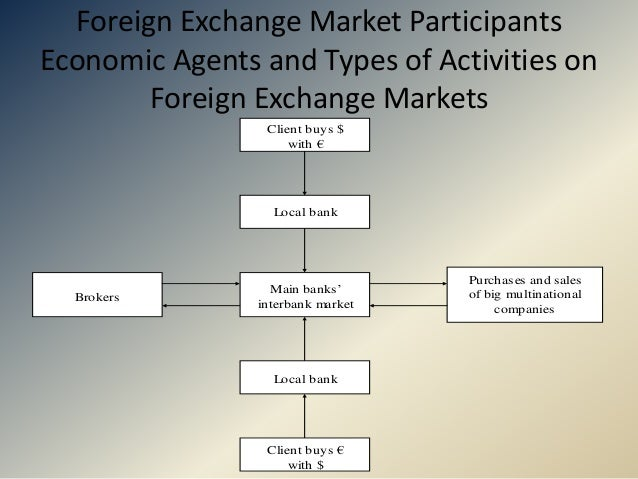 Participants in foreign exchange market