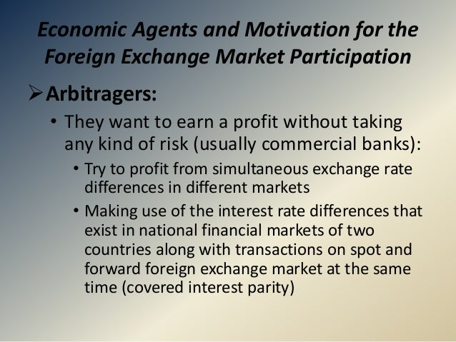Foreign exchange industry