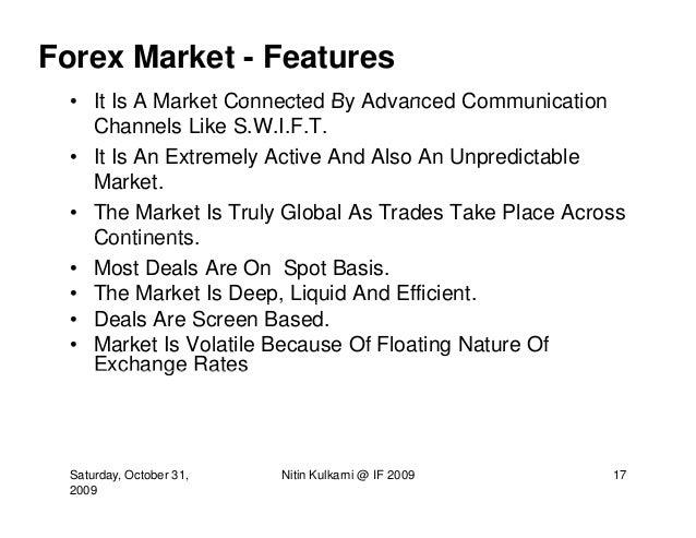 Foreign Exchange Market Pdf