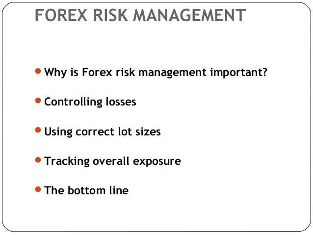 Lot management forex