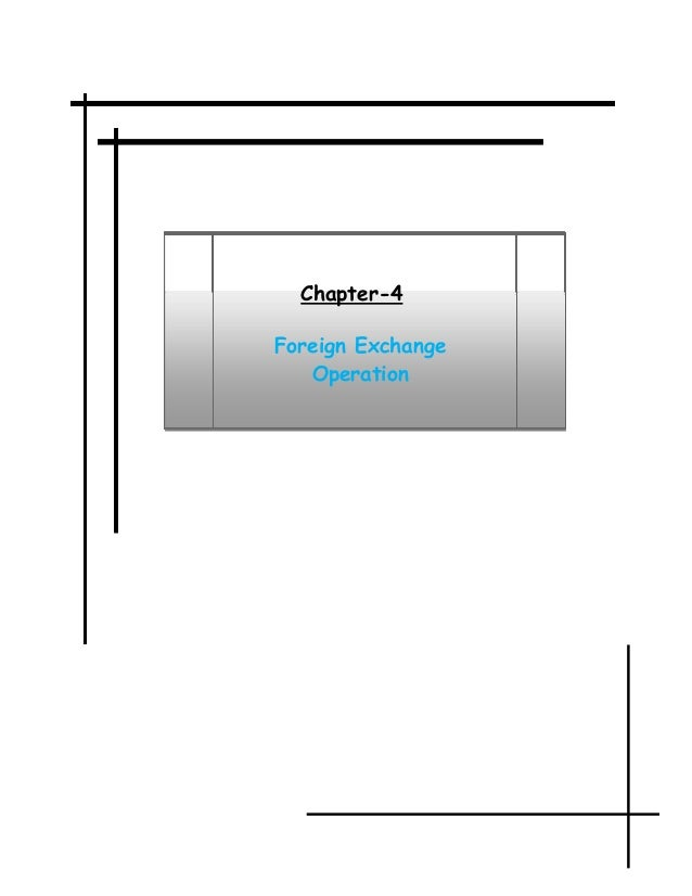 foreign exchange performance and bank s profitability Exchange rates and profit margins: the case of japanese exporters thomas klitgaard xporters must make a pricing decision when-ever exchange rates change the exchange rate, s, is foreign currency per yen, p is the general price level.