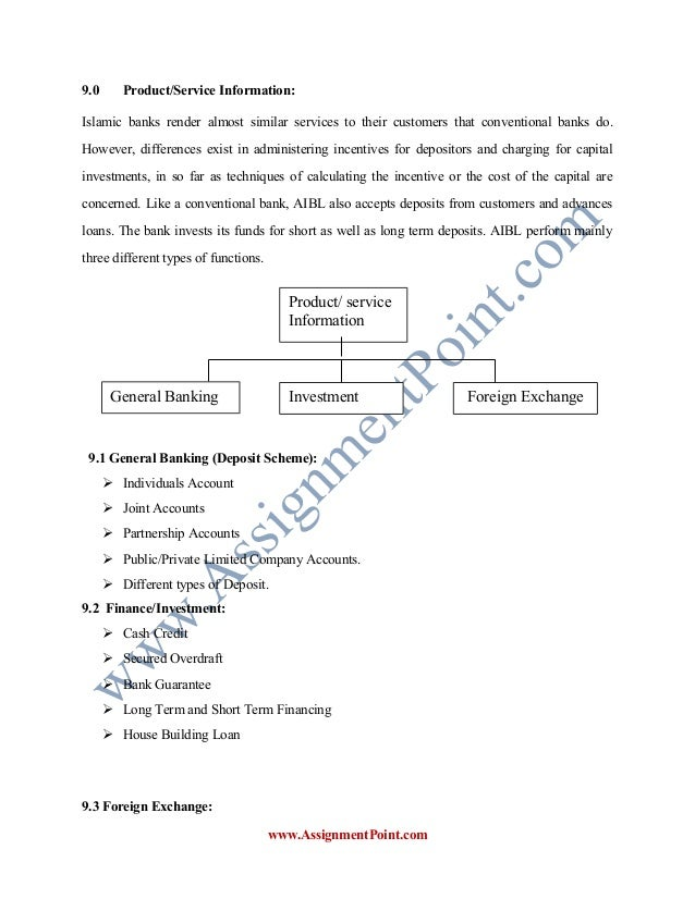 internship report on customer satisfaction on the services of al arafah islami bank limited essay Free essays on internship report of al arafah islami bank limited for students use our papers to help you with yours 1 - 30.