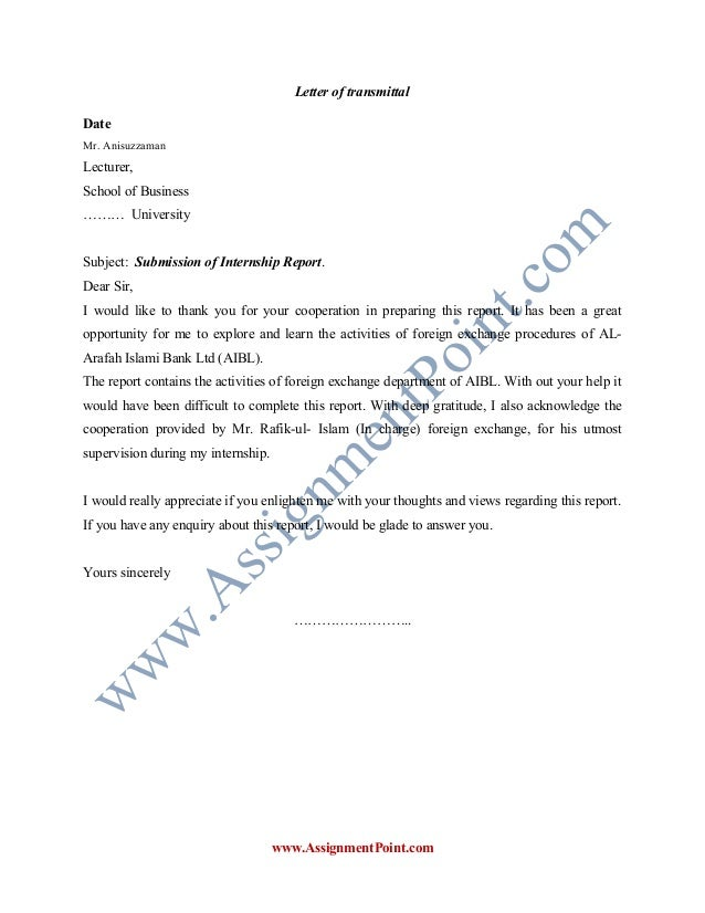 Report On Foreign Exchange Procedures Of Al Arafah Islami