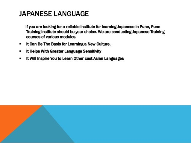 Foreign Language Courses - Classes in Pune | | Pune Training