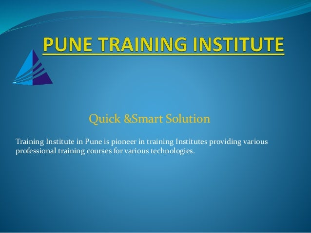 Forex training courses in pune