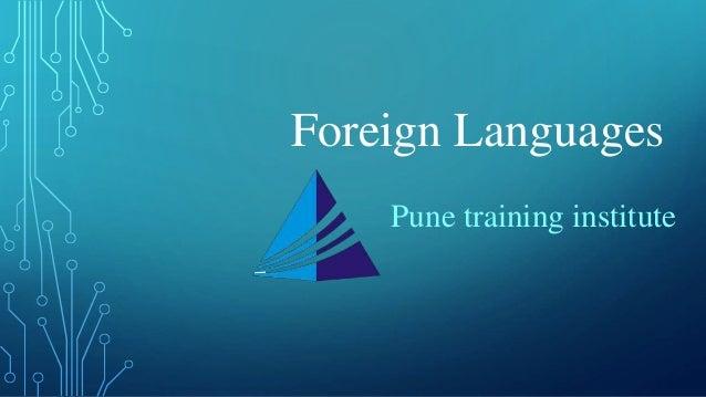 Foreign Language Courses - Classes in Pune | Pune Training