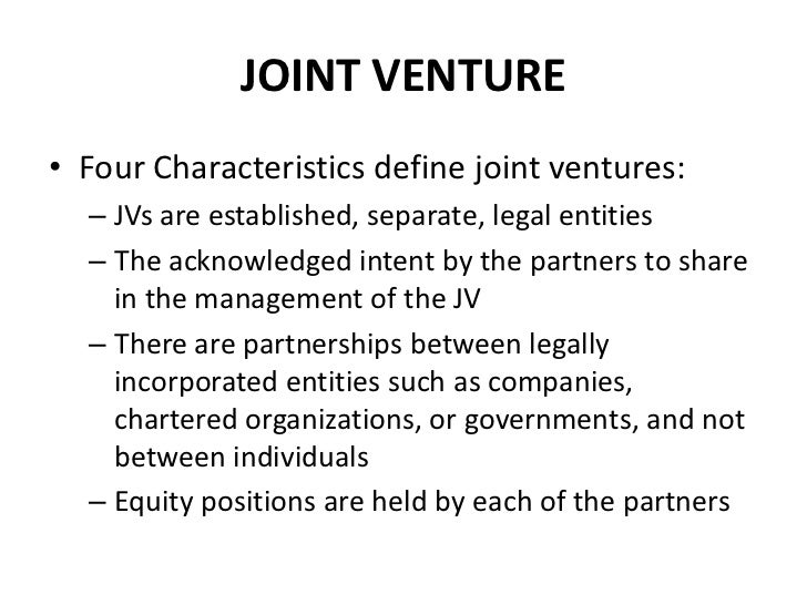nora sakari a proposed joint venture Nora-sakari: a proposed jv in malaysia benefits of the joint venture problems encountered - equity split - sharing of the technology - royalties - salaries.