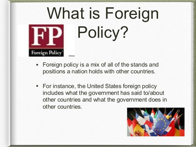 cold war foreign policy notes The european union has declared ambitious objectives for a common european foreign policy since the end of the cold war through successive revisions of its con.