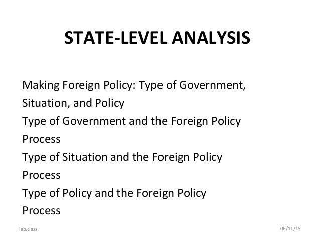 institution making of foreign policy in Of the many influences on us foreign policy formulation, the role of think tanks is   think tanks are independent institutions organized to conduct research and   officials immersed in the concrete demands of day-to-day policy-making are.
