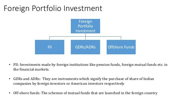 Foreign portfolio investment meaning in english investment advisory jobs in mumbai powai