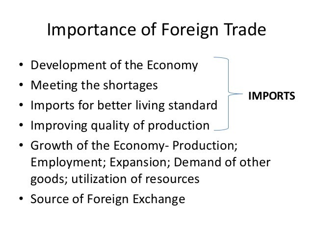 foreign trade its changing composition • composition of foreign trade means composition of exports and imports • composition of exports and imports has changed in india on account of economic development • major portion of indian imports consists of'fuels, capital goods,chemicals, etc.