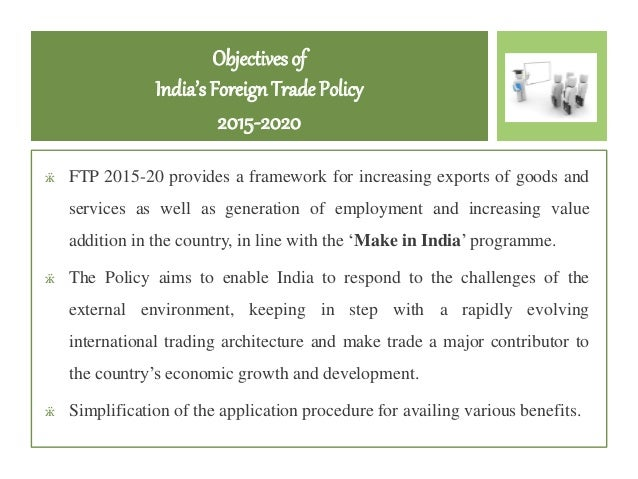 Foreign trade policy 2015-20 download