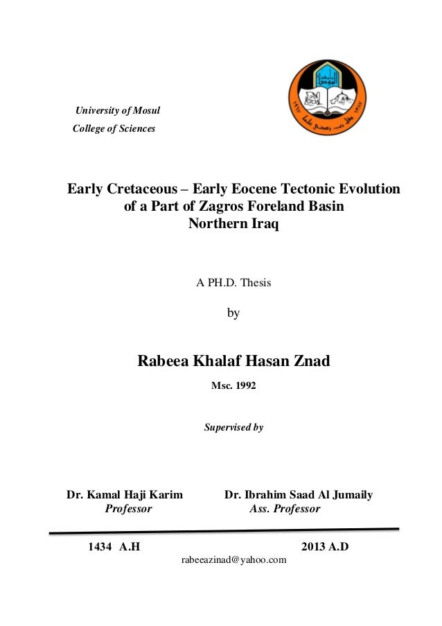 Phd thesis embedded