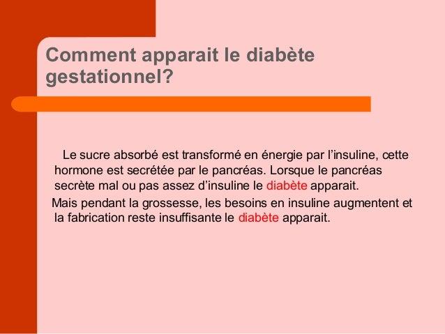 Dépistage du diabète gestationnel