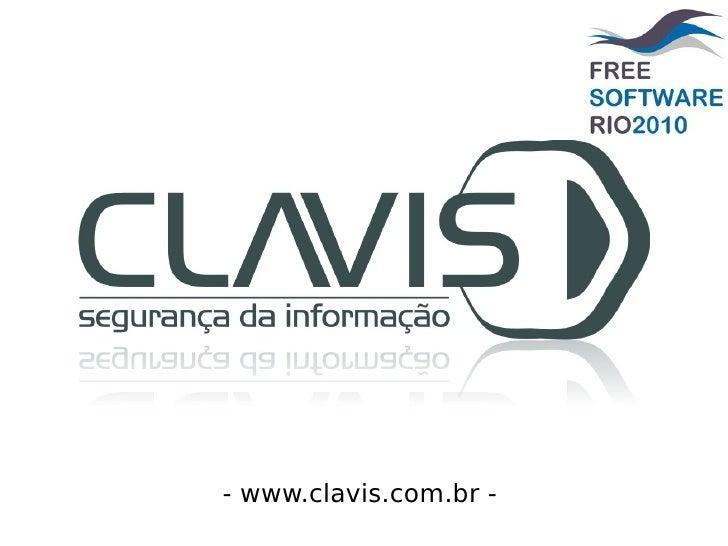 - www.clavis.com.br -