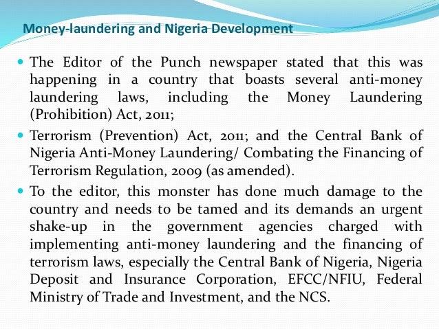 Money Laundering Essays (Examples)