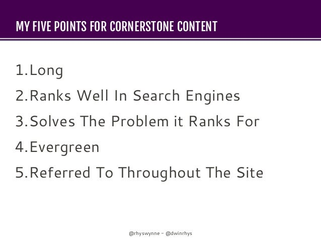 Forensically Analysing Cornerstone Content  - WordCamp Manchester 2018 Slide 3