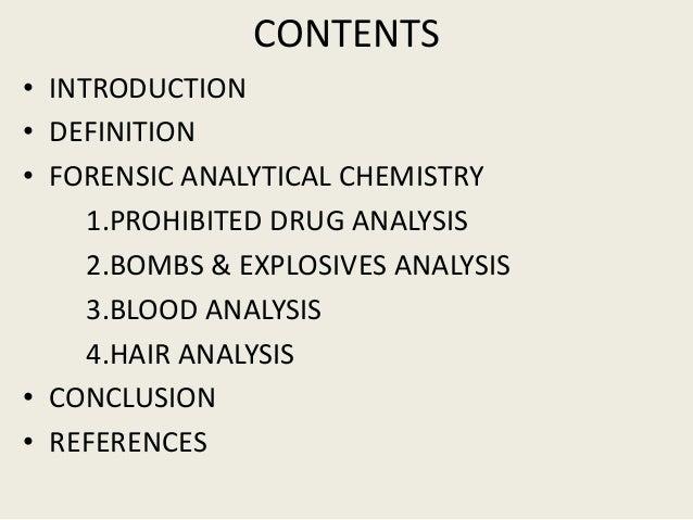 conclusion chemistry definition