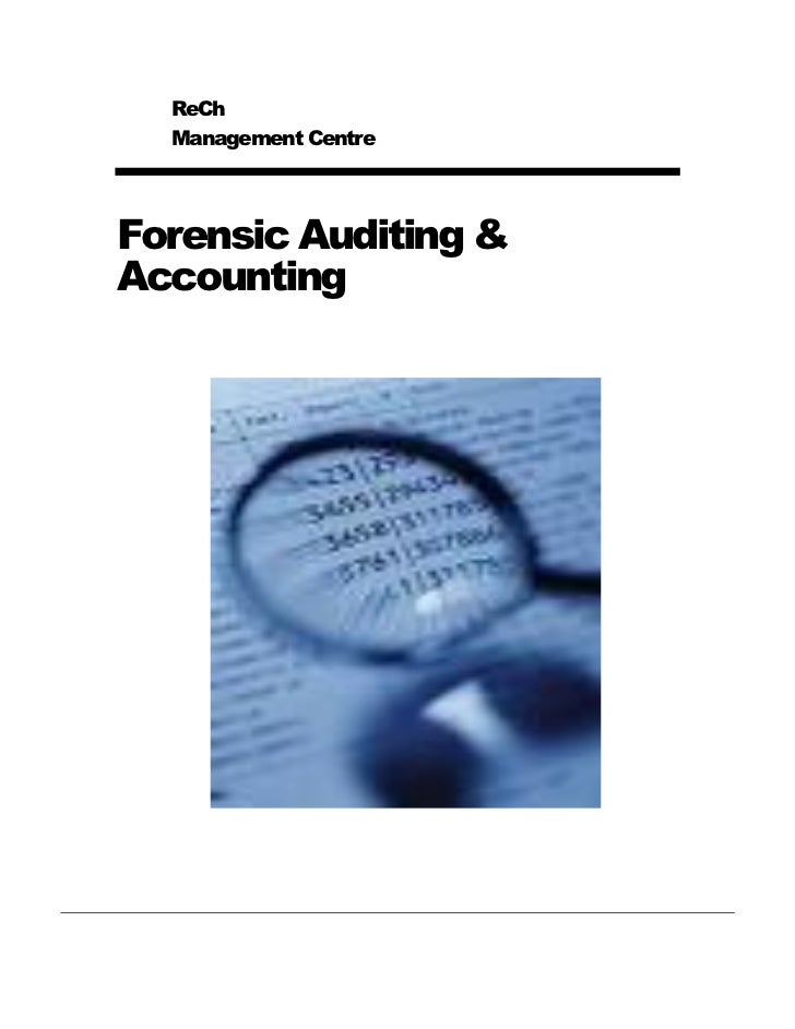 ReCh  Management CentreForensic Auditing &Accounting