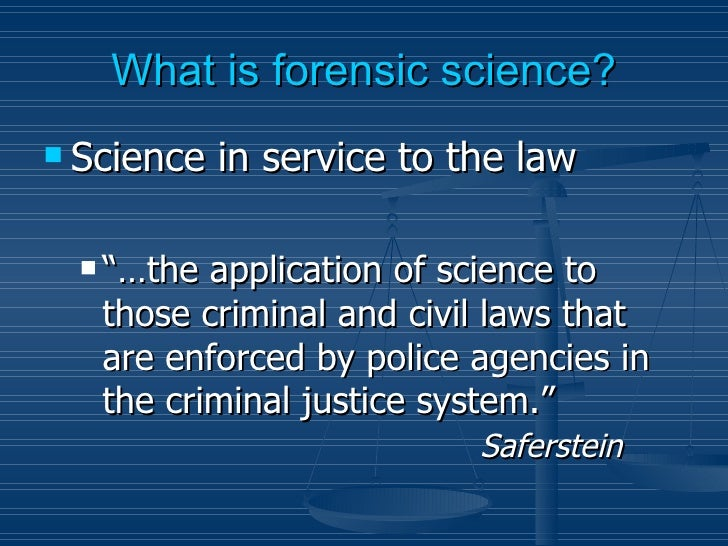 Forensic chemistry and forensic chemist