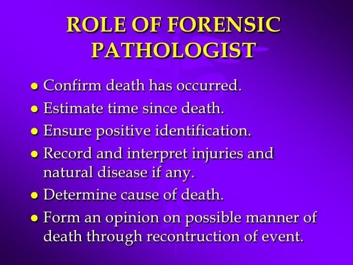 how to become a forensic pathologist