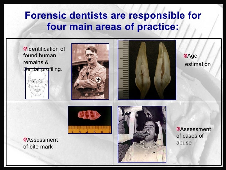 Forensic Odontology Cases
