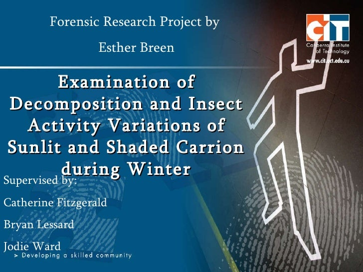Examination of Decomposition and Insect Activity Variations of Sunlit and Shaded Carrion during Winter Forensic Research P...