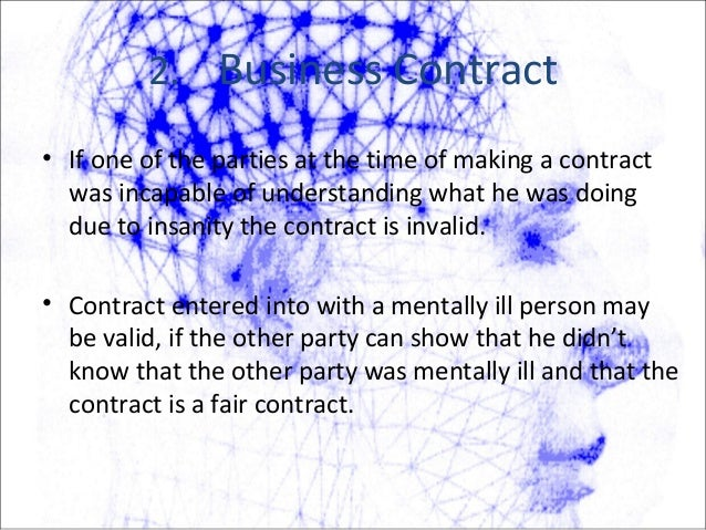 3. Marriage Contract • A marriage is considered invalid, if at the time of marriage either party - is incapable of giving ...