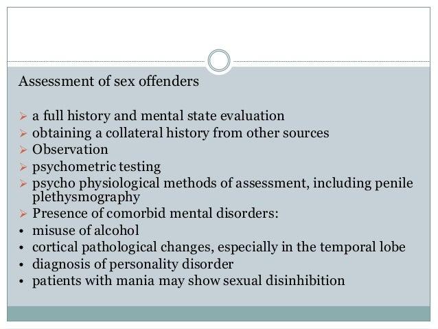 assessment offender psychiatrist sex tracking