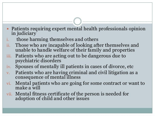End state law that criminalizes mental health patients