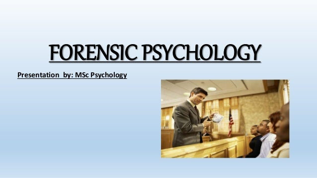 Apa Division Of Forensic Psychology