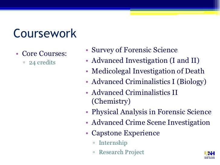 an overview of the process of forensic science and investigations