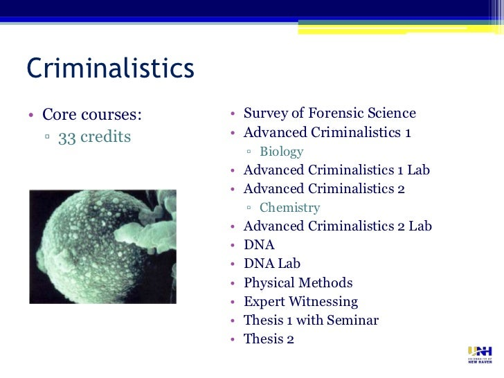 6 06 lab forensic science course The university of florida is home to the world's largest forensic science program, with online master's degrees, graduate certificates, and non-credit courses.