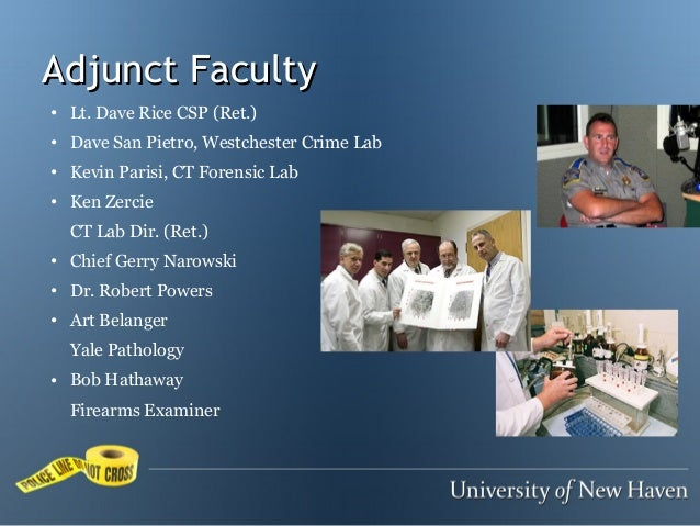 University Of New Haven M S Forensic Science Webinar Overview