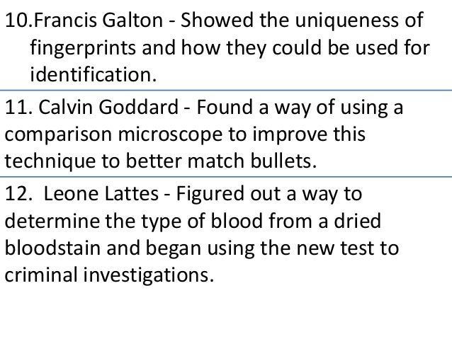 forensic 1 unit 5 text Welcome to forensic science 2017-2018 please email me at dmccullough@ ccboenet any time you have a question 4/10 fingerprint notes 4/11 collect finger 1 make sure you can access your infinite campus the instructions for this process are on the ccboenet webpage link to your email if possible i can use te.
