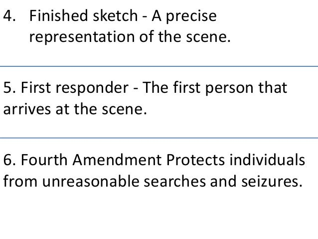 forensic science module 2 6 Forensic science and criminal  the range of modules available and the content of any individual module may change in  week 2 the history of forensic science.