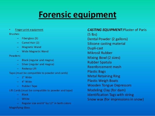 Forensics Ppt