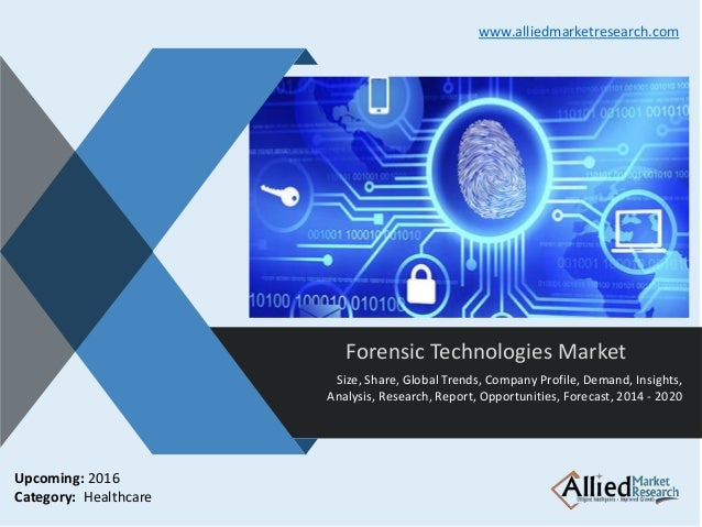 Forensic Technologies Market Porter S Five Forces Model Is Used To