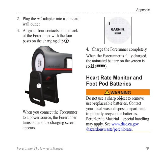 forerunner 210 manual rh slideshare net Garmin 305 Garmin 200